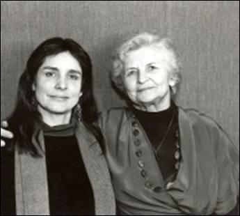 Marija Gimbutas e Joan Marler.