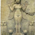 Inanna-Ishtar Rilievo Burne, 1800 a.C., British Museum